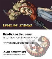 Business Card by RedBladeStudios