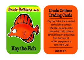 Crude Critterz Trading Cards by kileyelik