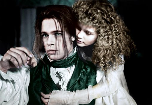 Louis And Claudia Colorization by SamBriggs