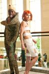 Leeloo and Ruby Rhod Cosplay by ReneeRouge
