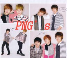 Looking SHINee PNG's by JeshoJapan