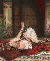 O Sun, Thy Uprise Shall I See No More (Cleopatra) by dani-lachuk