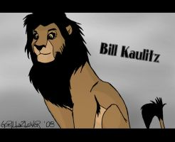 Proud Bill Kaulitz Lion by GorillazLover