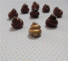 Pooh Charms by GandaKris