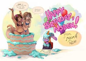 Happy Birthday, Noben! by Remainaery