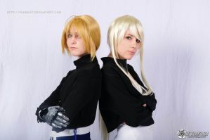 FMA: Ed and Winry by Kaira27