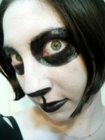 Panda Face by OneHallowsEve