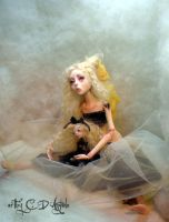 Creepy doll Ball jointed D by cdlitestudio