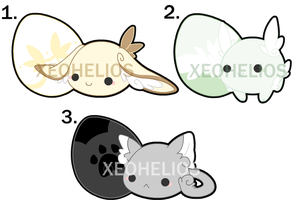 Fluffy Hatchling Adoptables Set 2: CLOSED by Xeohelios