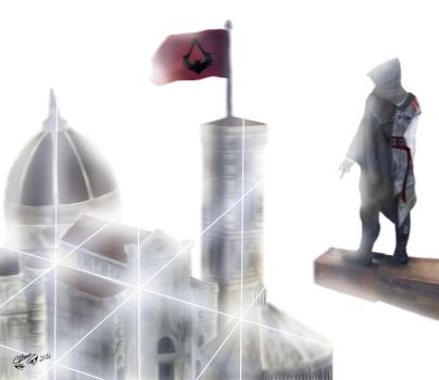 Assassin's Creed - Enter the Animus by CJRamosArt