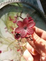 Cherry Branch Fairy Flower Ring by TheWingedBoggart