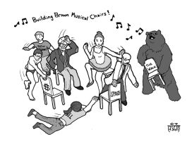 Building Brown Musical Chairs by sayer