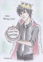 Happy Birthday BJA by darkwaylovesMCR