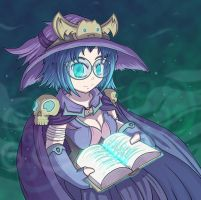 Witchbook by mogstomp