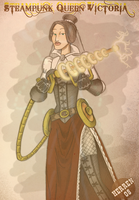 Steampunk Queen Victoria by herrenmedia