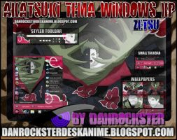 Zetsu Theme Windows XP by Danrockster