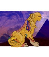 The Sun Sphinx by systemcat