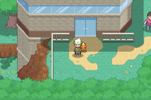 Hoenn - Pokemon Lab - Littleroot Town