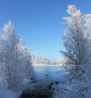winter in Finland by KariLiimatainen