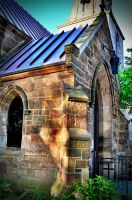 Side of the Church in cam HDR by PAlisauskas