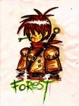 Dude named Forest 001 by Metalsowa