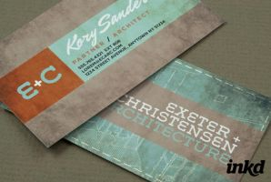 Architecture Firm BusinessCard by inkddesign