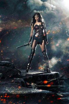 Dawn Of Justice - Wonder Woman - Colour Edit by Grimeministar