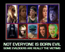 Not everyone is born evil by DoctorWhoOne