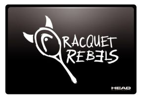 Head Racquet Rebels Logo by artcoreillustrations