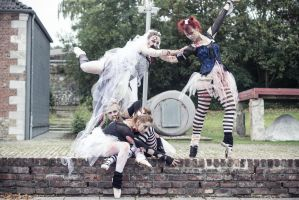 Ballet meets Zombies: The whole family by SeelederSchar