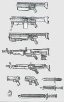Federation gun concepts by weaponry-guild