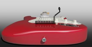 3D Guitar #2 by Ineray