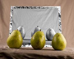 Still Life with Pears by pubculture
