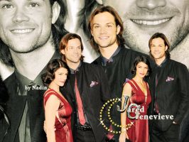 Jared and Genevieve by Nadin7Angel