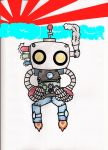 Robot of the Rising Sun by SuperZach1112