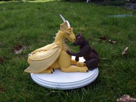 Wedding Cake Topper for Sema by WickedSairah