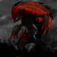 Dark Zoroark by Dr-Platinum