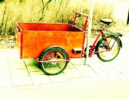 Day 56. Bakfiets by lilvdzwan