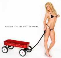 Lil Red Wagon by KnightDigital