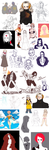 Le sketchdump 2k15 of tumblr things by Mowwiie