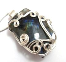Moonglow Pendant no. 2 by sojourncuriosities