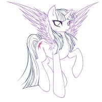 Free Lineart - Mlp Request by JigokuShii