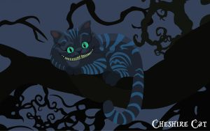 Cheshire Cat by cherryblue13