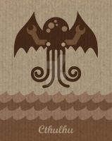 Cthulhu for kids by cinghialkrieger