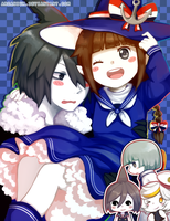 Fanart: Wadanohara and the Great Blue Sea by arcanium