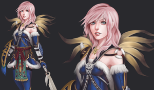 Lightning Return : Kimahri outfit by acetea-san