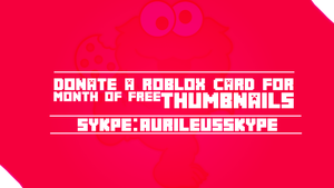 Roblox Card for Month of Free Thumbnails by AurileusGFX