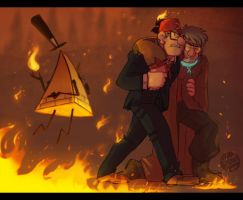 Gravity Falls- Take Back the Falls 2016 by MadJesters1