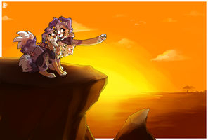 Everything the light touches by Nekoshiba