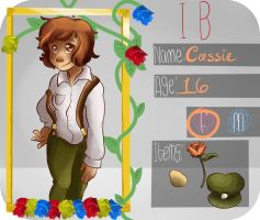 [TBG] Cassidy App by strawbearie-pudding